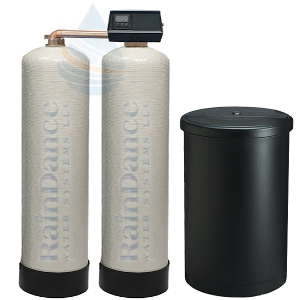 commercial twin well water softener