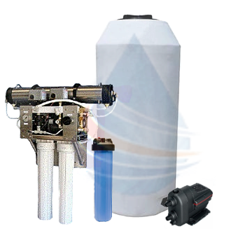 whole house reverse osmosis package